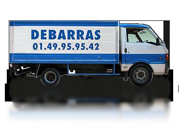 Camion pour un débarras
