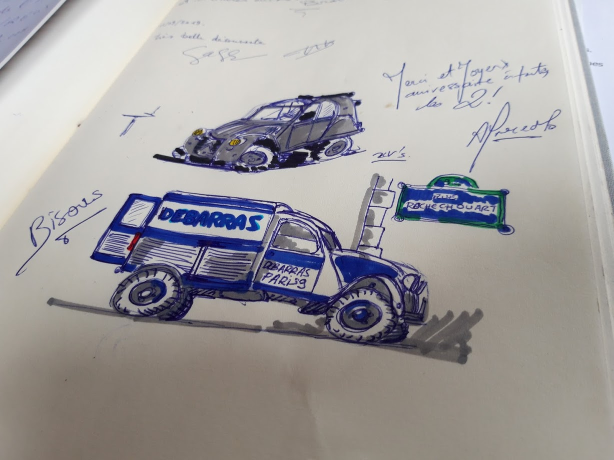 croquis camion